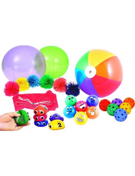 Super pack jeux de parachute pour agrémenter les jeux coopératifs de parachute enfants