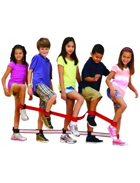 Bandes de marche en équipe, matériel de jeu coopératif pour jeux en équipe des enfants, marque Spordas