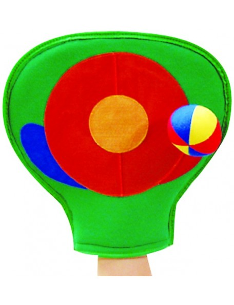 Gant-cible de scratch-ball pour les jeux de lancer et de cible pour enfants.
