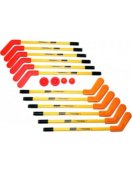Kit de crosses de street hocket Dom, taille enfant ou adulte. Crosses de jeu sportif de street hockey à acheter pas cher