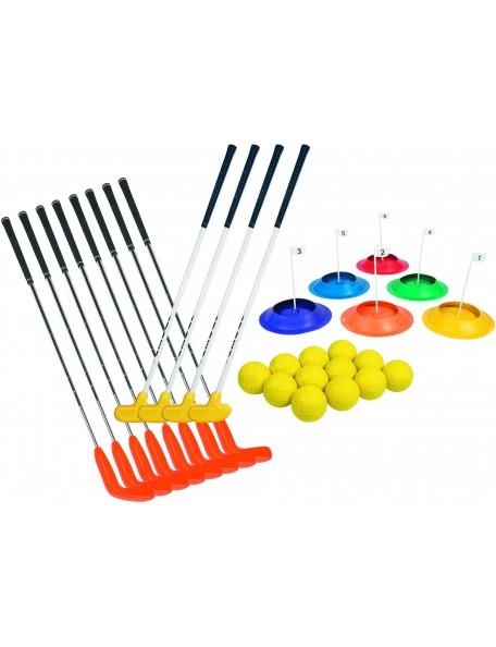 Kit d'initiation au golf pour enfants DOM, putter, club, balles de golf DOM pour l'initiation au golf des enfants
