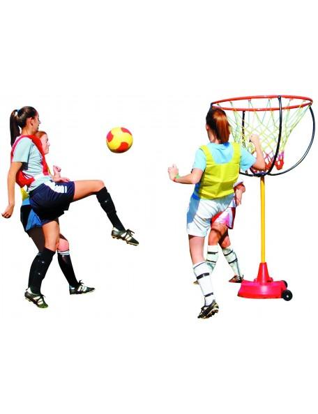 Panier géant polyvalent Spordas pour les jeux sportifs collectifs de basket et football des enfants