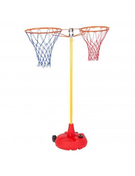 Panier back to back Spordas de basket-ball pour enfants