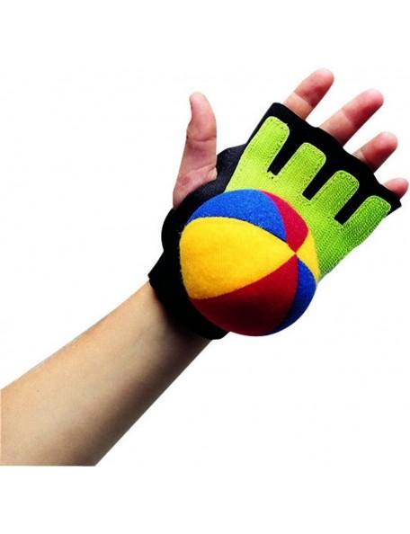 Gant de scratchball ambidextre, kit de 12 gants de scratch-ball pour les enfants à acheter pas cher