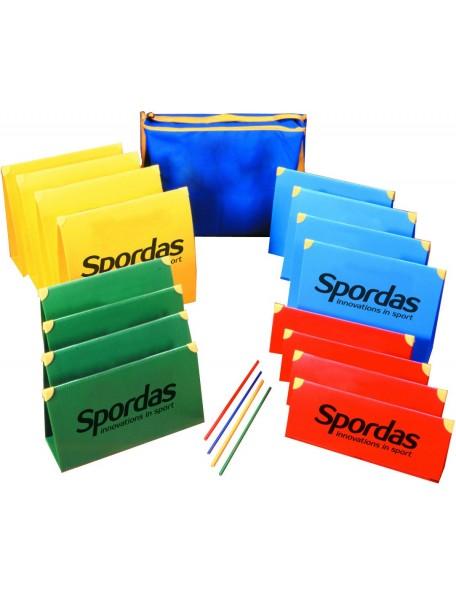 Kit de haies scolaire d'athlétisme adapté pour les jeux sportifs d'athlétisme pour enfants à acheter pas cher