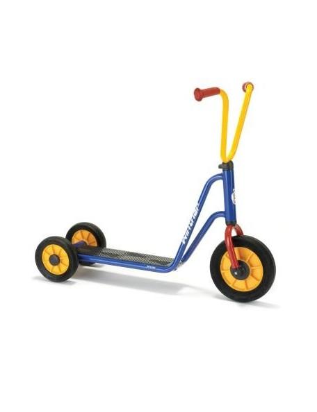 Trottinette 3 roues enfants 2 à 4 ans Mini Viking, matériel de cycle roulant scolaire