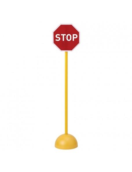 Panneau stop scolaire pour l'apprentissage du code de la route