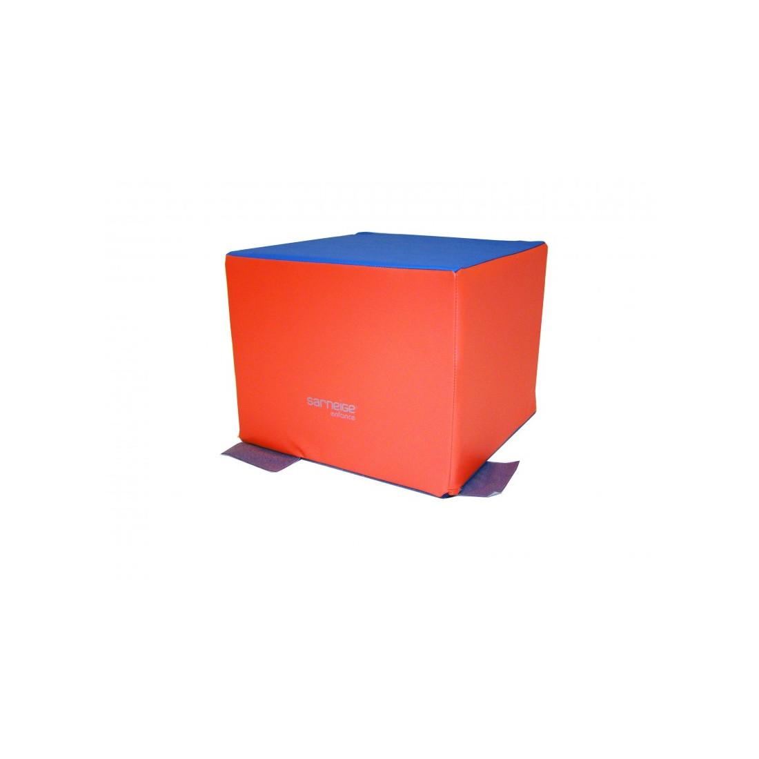 Cube de motricité Sarneige maternelle. Module cube de motricité Sarneige.