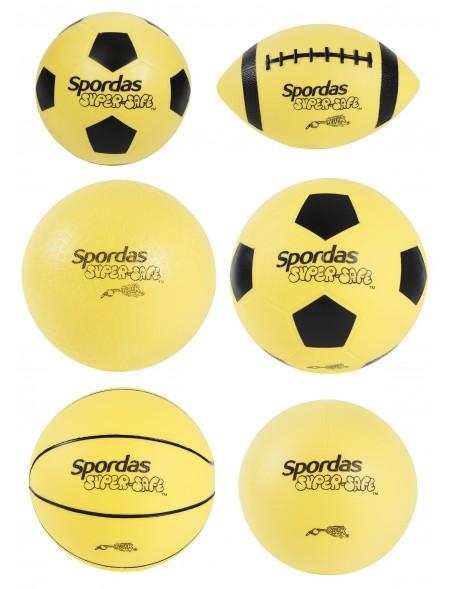Ballons de jeux super sécurité scolaire Spordas en mousse et en vinyle