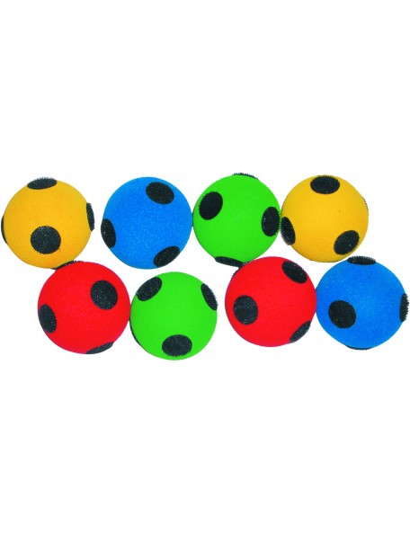 8 balles pou ciblé géante Spordas, pour jeux de lancers des enfants