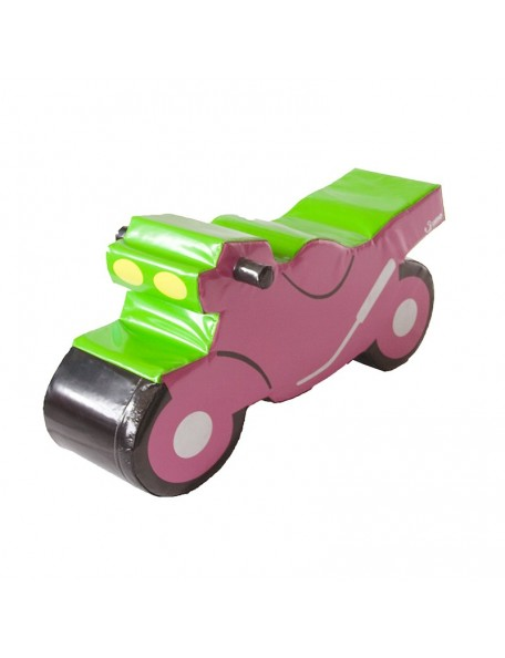 Moto en mousse de psychomotricité pour les enfants Sumo Didactic. Matériel de moto en mousse pour l'équilibre des enfants