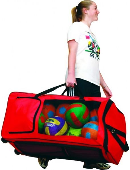 Méga sac avec 11 poches de qualité Spordas pour le transport facile de matériel sportif.