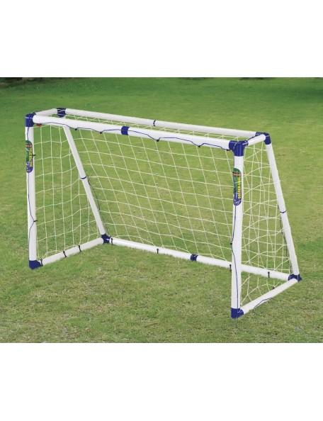 But en PVC pliable pour sports scolaires et en clubs. But de foot, hockey pliable, léger et en PVC pour les sports des enfants