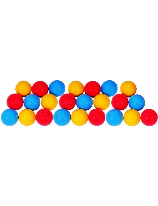 Lot de 24 balles mousse légères - 1