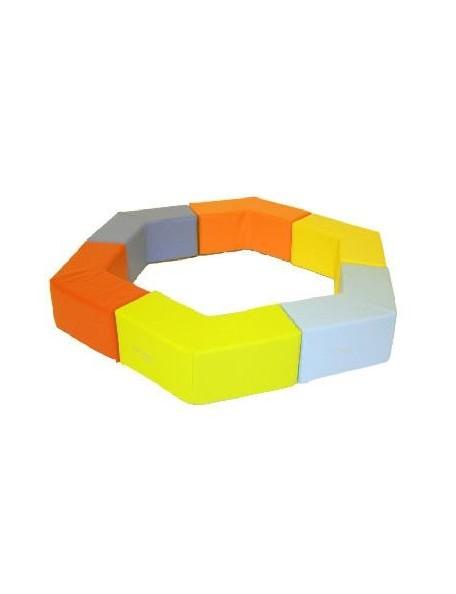 Kit hexagone Sarneige, modules de motricité pour bébé en crèche à, acheter pas cher.