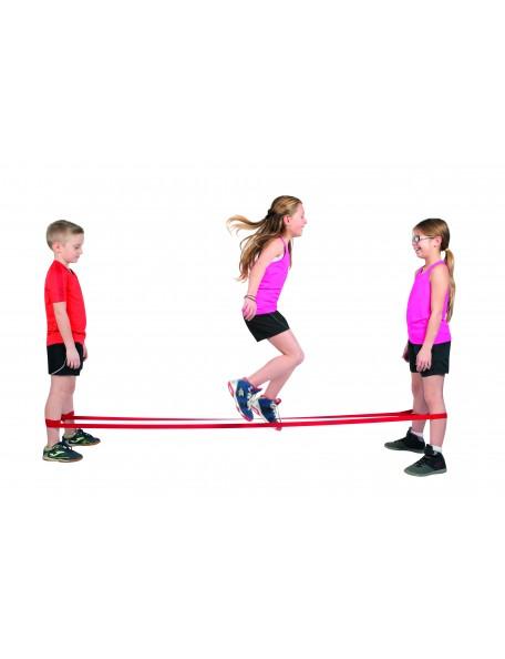 Bandes d'élastique de saut pour jeux d'enfants de saut à l'élastique