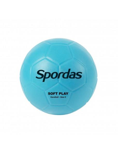 Ballon de handball Soft Play Spordas pour enfants. Ballon de handball doux et facile à utiliser pour enfants