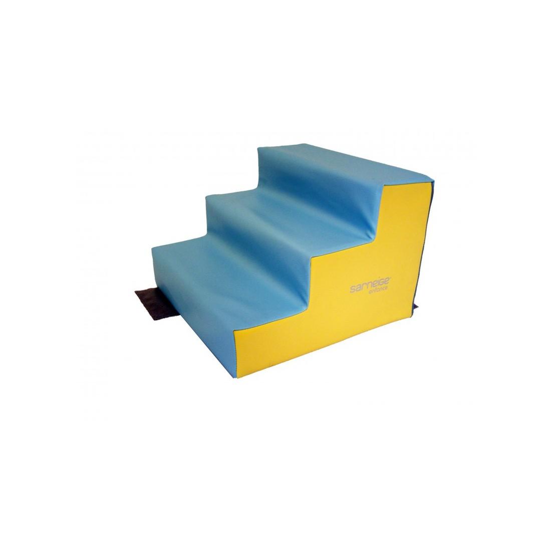 escalier 3 marches sarneige cr che en mousse module de. Black Bedroom Furniture Sets. Home Design Ideas