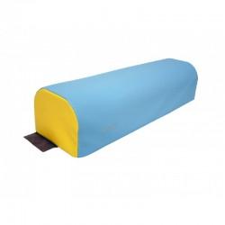 Demi-cylindre en mousse Sarneige pour parcours de motricité