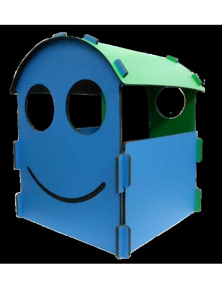 Maison Smiley sarneige en mousse pour enfants en crèche et en maternelle. Maison en mousse Carvex