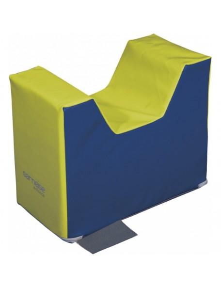 Embase sans PVC Sarneige, module de motricité maternelle.