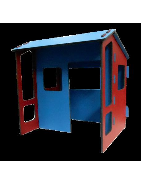 Maison Terrasse sarneige en mousse pour enfants en crèche et en maternelle. Maison en mousse Carvex