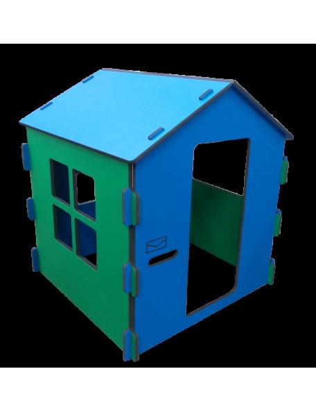 Maison Boîte à lettres sarneige en mousse pour enfants en crèche et en maternelle. Maison en mousse Carvex