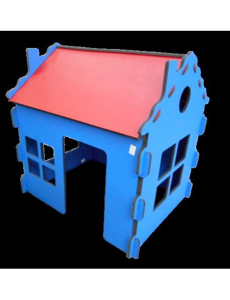 Maison Briques tuiles sarneige en mousse pour enfants en crèche et en maternelle. Maison en mousse Carvex