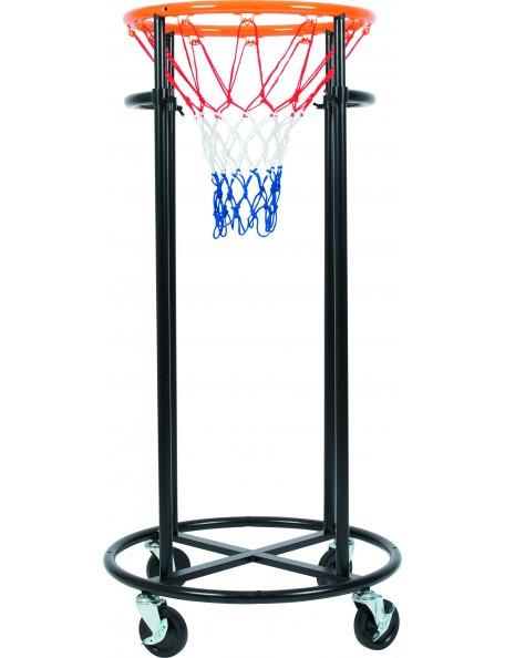 Panier de basket-ball sur roulettes Spordas pour les jeux de basket-ball enfants