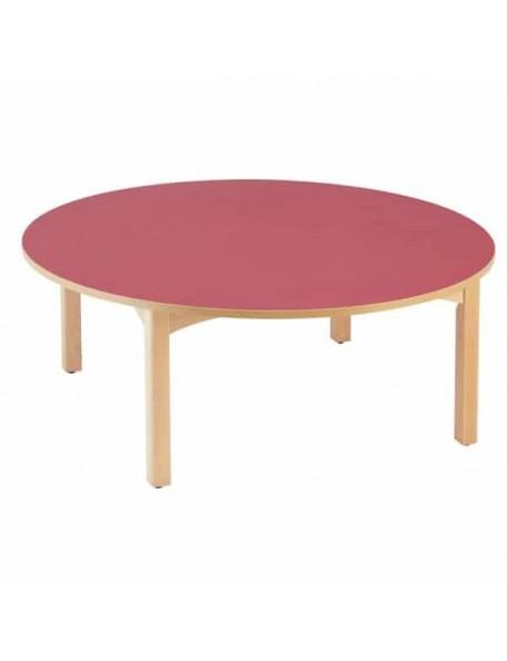 Table ronde pour enfants en crèche ou école maternelle.