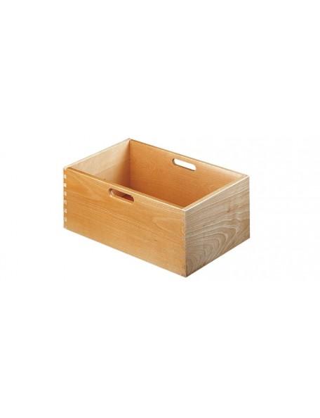 Casier bacs de rangement en bois sur roulettes pour établissements scolaires