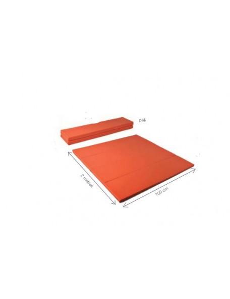 Surface d'évolution repliable couleur orange abricot - 3