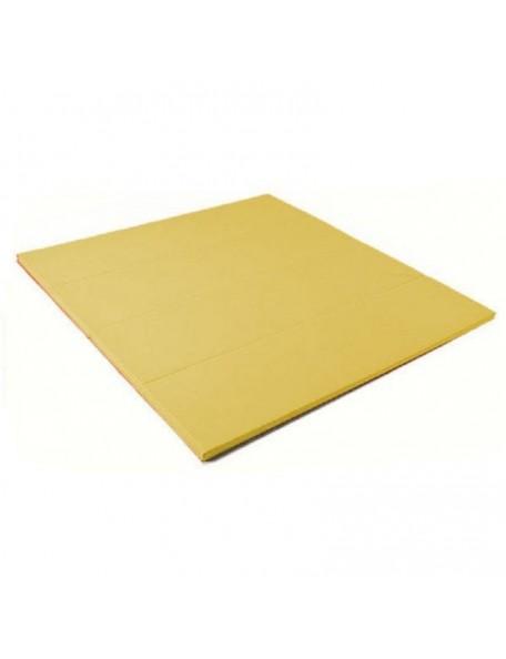 Surface d'évolution repliable couleur jaune blé - 1
