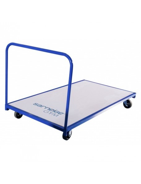 Chariot de transport de tapis - 1