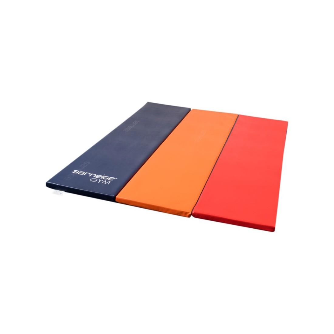 Aire d'évolution multicolore Sarneige, tapis pliable en mousse pour la gymnastique enfants