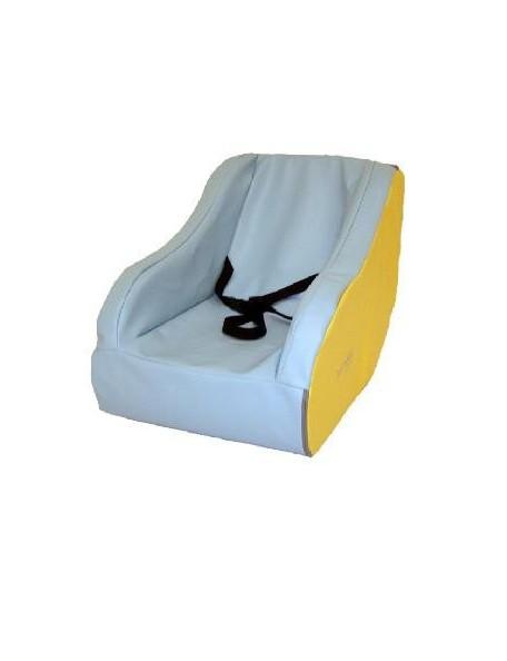 Fauteuil à bascule en mousse Sarneige pour les enfants en crèche.