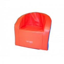Fauteuil Cambridge Sarneige en mousse pour enfants de maternelle, assise 32 cm