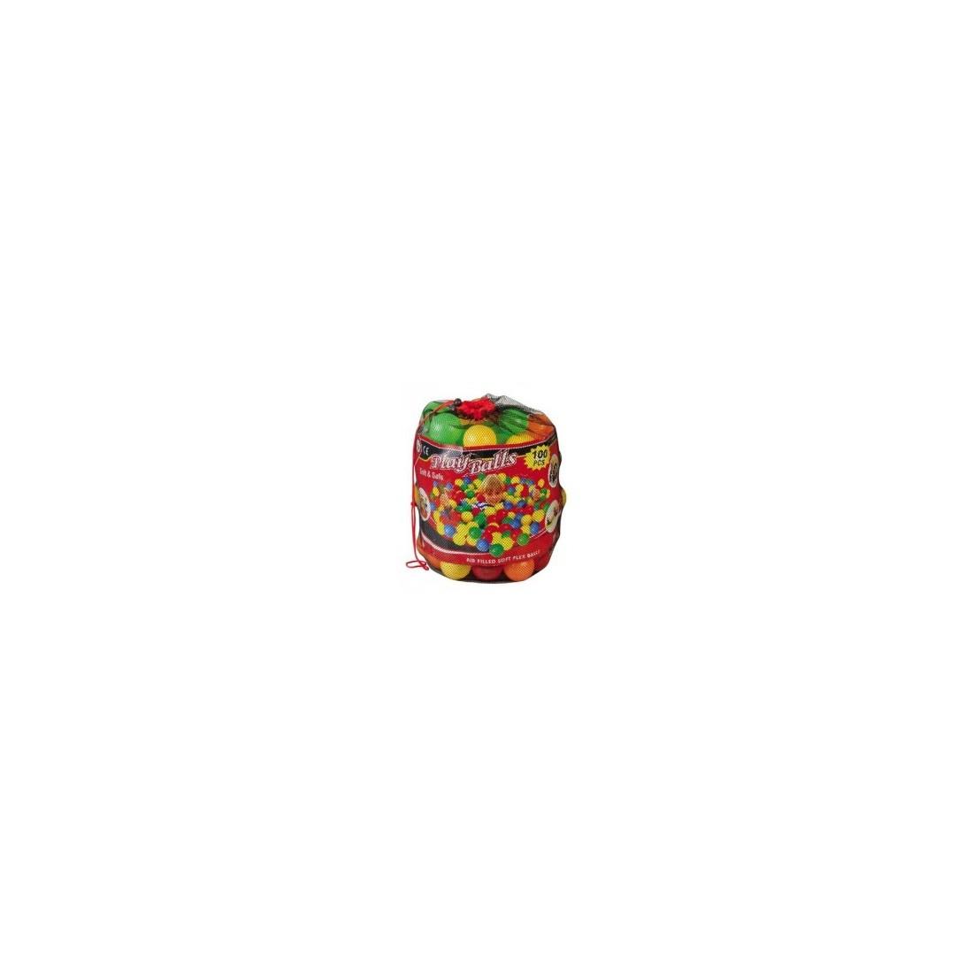 Lot de Balles pour piscine en mousse sarneige, balles 6,5 cm de diamètre