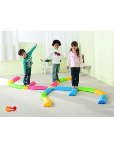 Parcours d'équilibre moteur 20 pièces pour enfants de marque Weplay