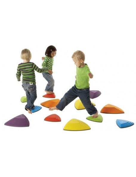 Set de 6 pierres de rivière d'équilibre pour les enfants à acheter pas cher