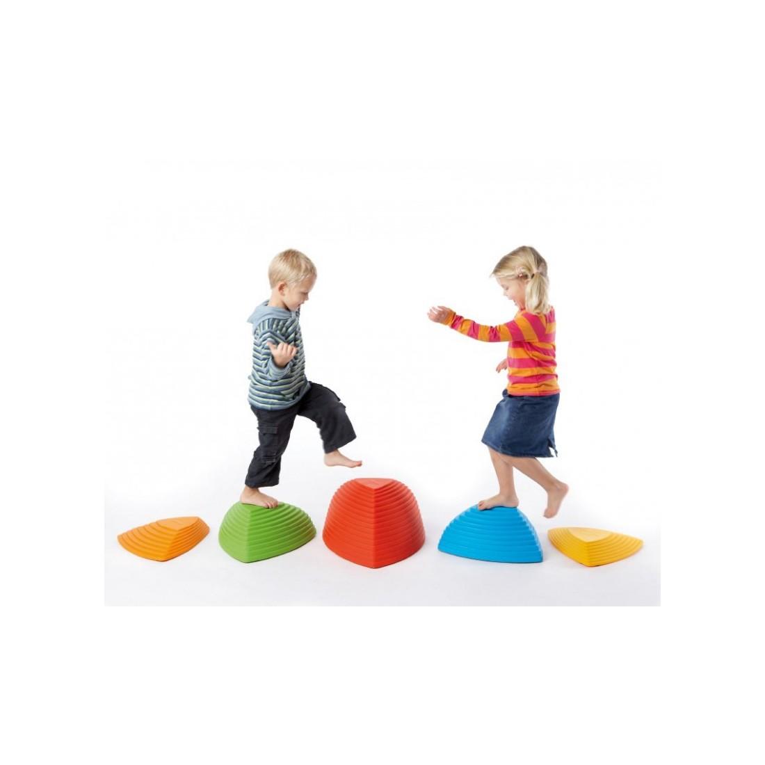 Set de 5 collines de rivière d'équilibre pour les enfants