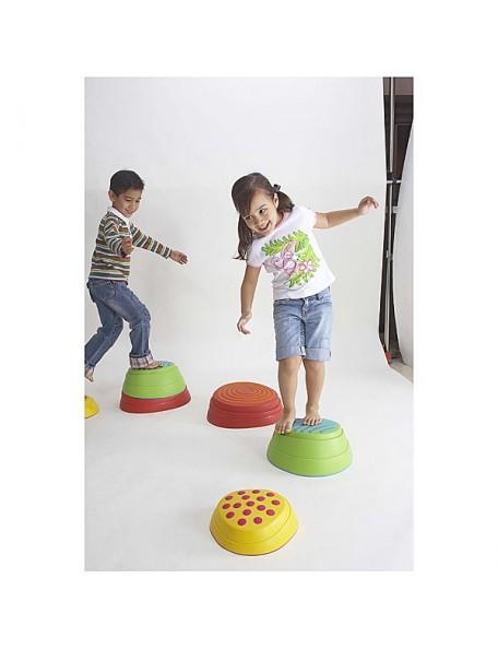 Rochers d'équilibre pour les parcours de psychomotricité enfants à acheter pas cher