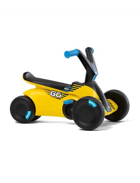 Kart à pédales bébé GO² jaune racing - 1
