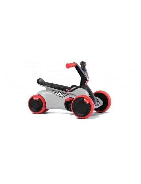 Kart à pédales bébé GO² gris racing - 1