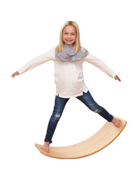 Planche d'équilibre en bois basique - 2