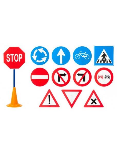12 panneaux de circulation routière - 1