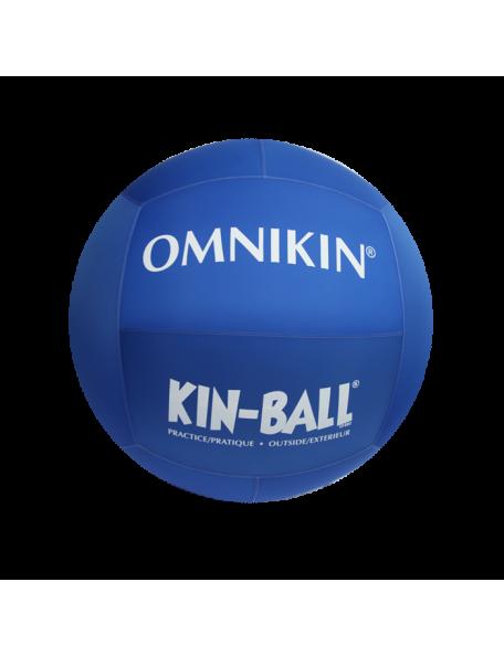 Ballon de Kin-ball Omnikin d'extérieur bleu 102 cm, ballon géant