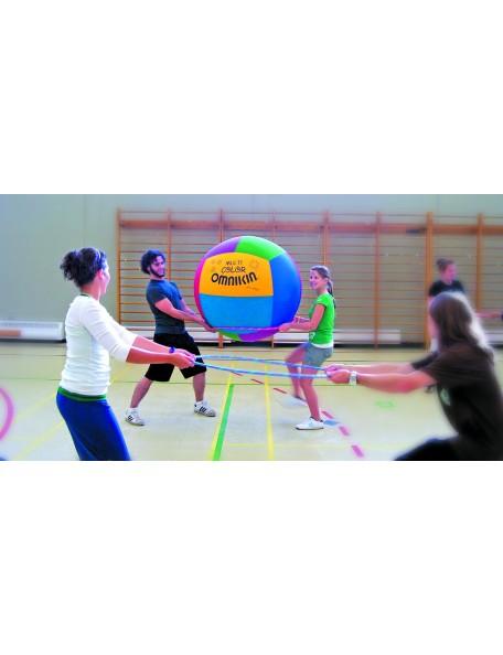 Ballon de Kin-ball Junior Multicolore Omnikin - 3