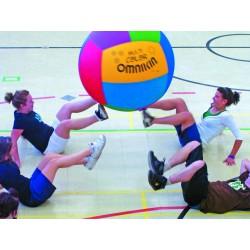 Ballon de Kin-ball Junior Multicolore Omnikin - 4