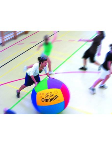 Ballon de Kin-ball Junior Multicolore Omnikin - 5